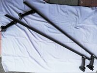 Thule Roof Bars for Vans or Cars 100kg rated. Fully Adjustable. For camping, roof box or work use.