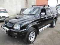 MITSUBISHI L200 WARRIOR LWB (black) 2005