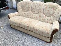 Sofa & 2 Armchairs. Free to good home! Can deliver for £5!