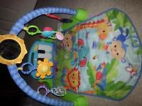 fisher price piano kick and play gym excellent condition from smoke free home