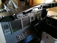 Various Boeing 737 simulator parts