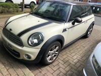 Mini Cooper 1.6 2013 very cheap bargain Hpi clear