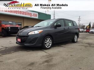 2015 Mazda MAZDA5 GS BLUETOOTH!! THIRD ROW SEATING!! MOUNTED WHE