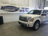 2012 Ford F-150 PLatinum w/ leather, moonroof, nav, heated and c