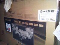 "SHARP 3D SMART TV 46"" (SPARES/REPAIR)"