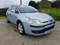 2005 CITROEN C4 1.6 AUTOMATIC..MOTED TO MARCH 2018.POSSIBLE PART EXCHANGE CREDIT CARDS ACCEPTED