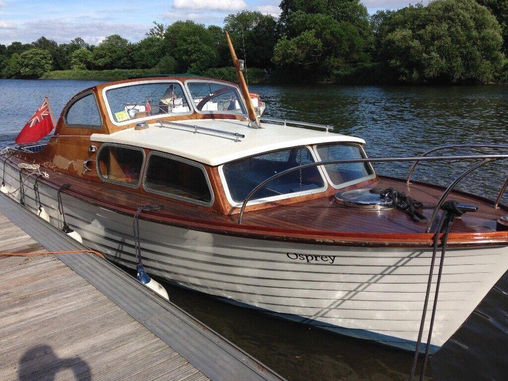 Classic Wooden Boat For Sale In Twickenham London Gumtree