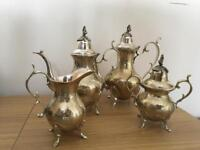 Antique / vintage 4 piece epns tea set good clean condition reduced