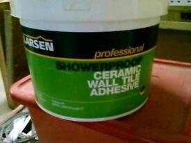 Larsen Showerproof Ceramic Wall Tile Adhesive