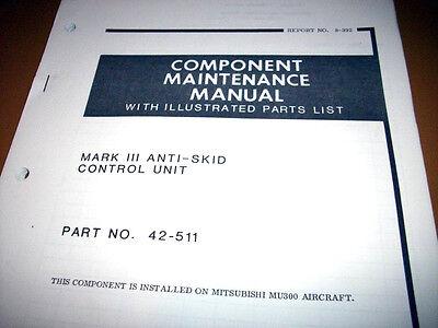 Crane Mark III Anti-Skid Control 42-511 Service Manual