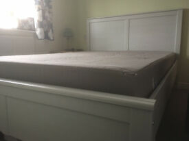 Double Bed and Mattress - IKEA Aspelund