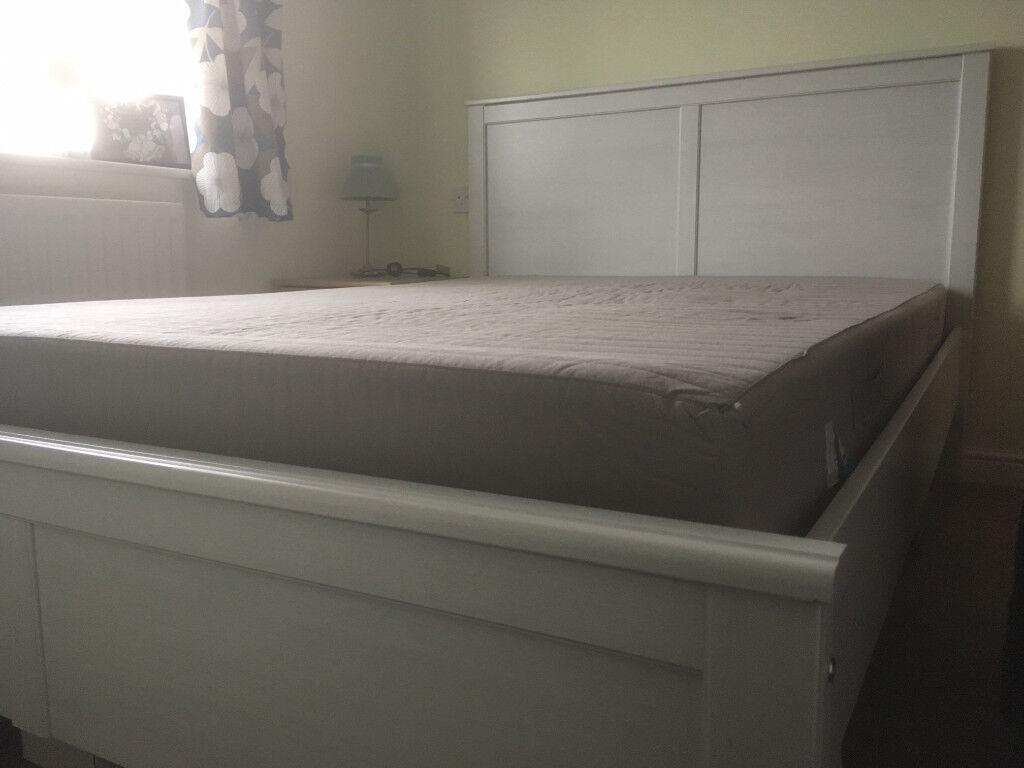 Disassembled King Size Bed Frame