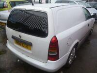 Vauxhall ASTRAVAN Envoy DTI,1686 cc Car Derived Van,clean tidy van,runs and drives well