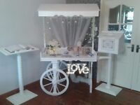 Candy cart,Mail box,Guestbook stand can be used for small business,or for any special occasion
