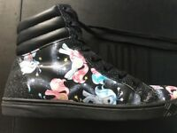 Women's Size 7 Iron Fist My Little Pony High Tops