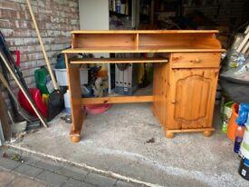 Pine Desk - Good Condition