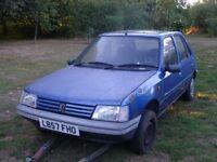 Peugeot 205 Diesel Blue 1994