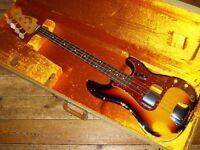 Fender USA Custom Shop 50th Anniversary 64 Precision Bass L Series Heavy Relic 2014