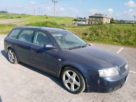 2004 AUDI A6 2.5 TDI V6 FINAL EDITION 165 BHP BLUE 5 DOOR ESTATE