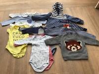 Baby boys bundle 3-6 months including Petit Bateau, La Redoute, Joules, Gap