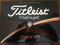 New Titleist Pro V1's-Boxes of 12-BEST PRICE