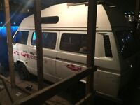 VW Type 25 Camper (1991) High Top. Autosleeper Trident Conversion - Mini Project