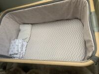 Tutti bambini cozee next to me crib / cot, baby swing and bath seat