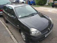 Renault Clio 1.2 16v Expression 3dr Hatchback Petrol Black Manual FULL SERVICE HISTORY