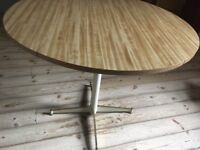Formica folding kitchen table