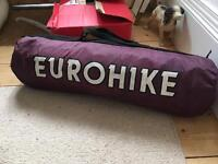 Eurohike purple 2 person tent