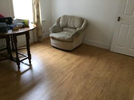 One bed flat with private garden to let