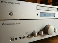 Cambridge Audio Azur 640A V2 Amplifier + Azur 640C V2 CD Player+ Cambridge Interconnects