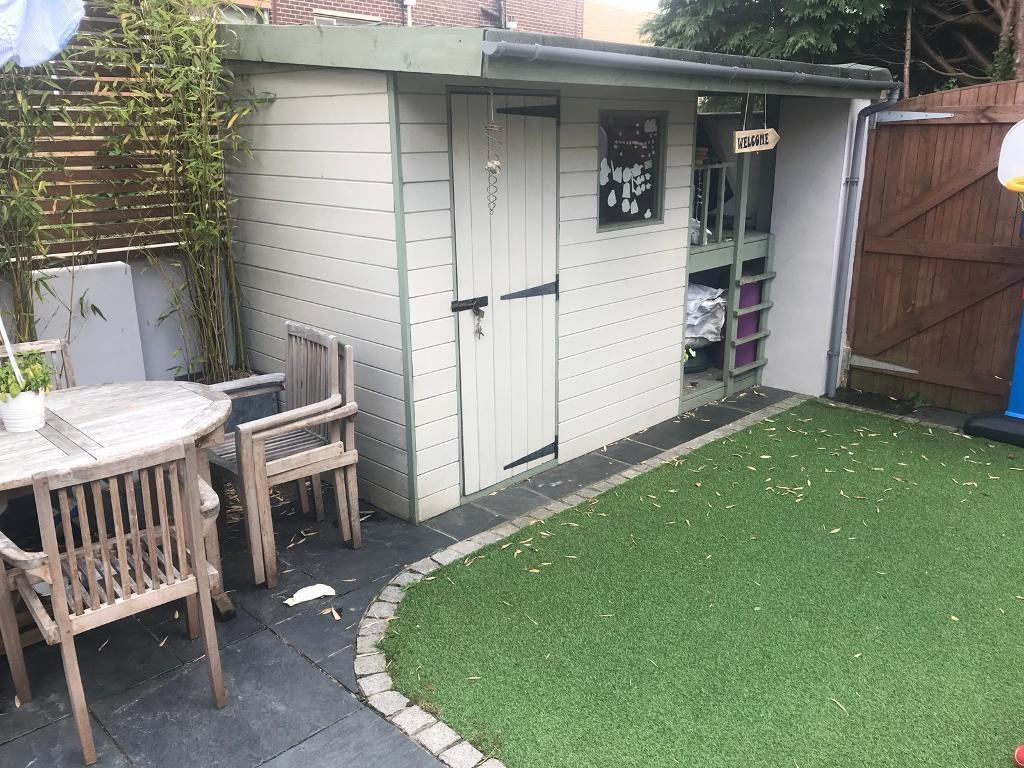 Bespoke Garden Cabin Shed Kids Play House In Llandaff Cardiff