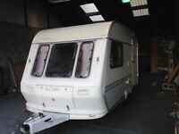 2 Berth Coachman 1994 Caravan with Awning