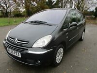 2005 55 CITROEN XSARA PICASSO 2.0 DESIRE 2 HDI 1 OWNER FULL MOT LOW 121K LOVELY DRIVE WOW PX SWAPS