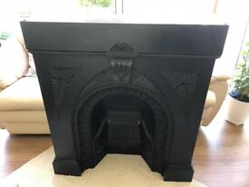 Cast Iron Fire Place. Antique