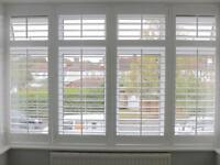 NEW white window shutters