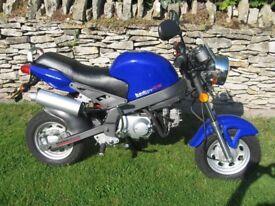 Keen Bad Boy 50cc Motorcycle.