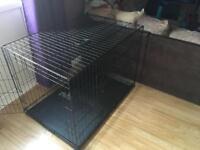 XL dog crate