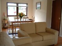 Delightful two bedroom flat for let in Sciennes