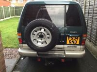 Isuzu Trooper Bighorn Green & Gold for sale - registered 2003