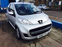 2010 PEUGEOT 107 URBAN 1.0 L--20 POUNDS ROAD TX