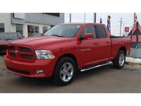 2012 Ram 1500 Sport Quad Cab 4x4 Hemi Low km Leather