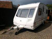 Sterling eccles onyx 4 berth fixed bed + extras