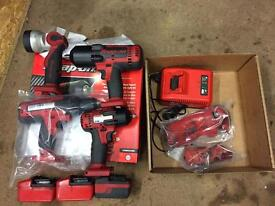 Cordless drill snap on