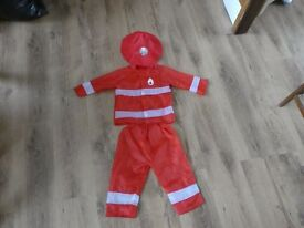 Fire Person Dress Up Outfit