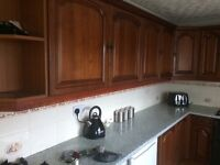 Solid wood fitted kitchen will suit anybody restoring a home