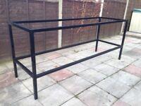Bespoke Steel Workbench Frame - Black