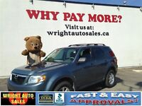 2010 Mazda Tribute 4WD  ALLOYS  A/C  138,874KMS  $9,997.00