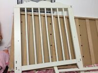 Classic White Wooden Baby Cot Bed from ikea